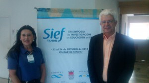 Sief XII, en Tandil, Dr. Marco Moreira y Dra. Silvia García de Cajén